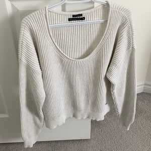 Abercrombie slouchy sweater